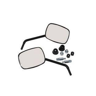 Vespa | spiegels model origineel vespa S links en rechts zwart mat DMP