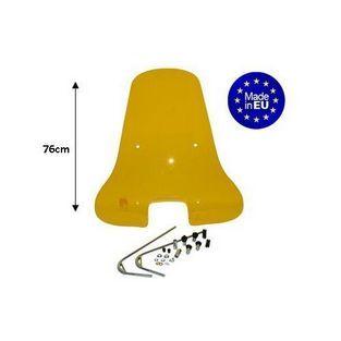 Vespa | Vespa S Hoog Windscherm (Geel) mét Bevestigingsset