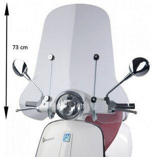 Vespa | windscherm met bevestigingsset hoog primavera origineel 1b001042