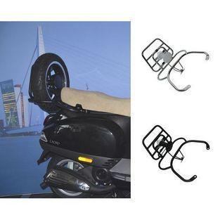 Vespa | achterdrager opklapbaar voor reservewiel Vespa S / LX / LXV zwart mat