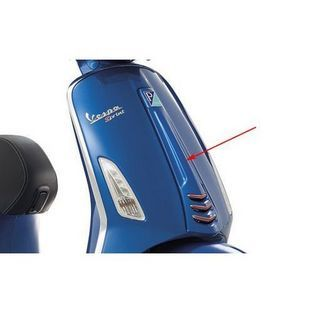 Vespa   voorkap midden vespa sprint blauw azzurro 261 / a origineel 1b000203000dq