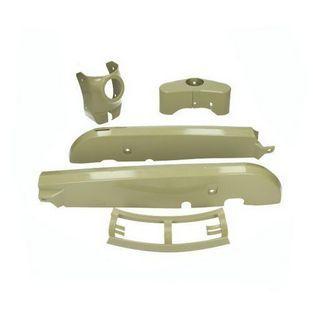 Kreidler | kappenset plastic kreidler grijs licht 4-delig