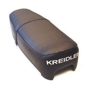 Kreidler | zadel model 1973 + woord kreidler zwart