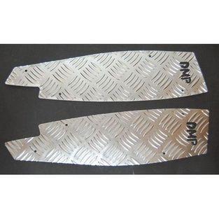 Aprilia | voetplaat set aprilia sr2005 aluminium DMP