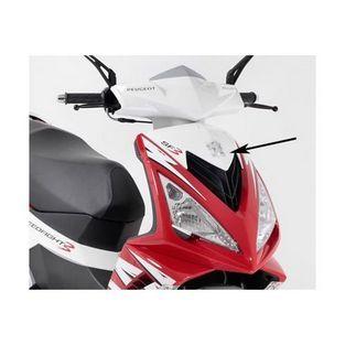 Peugeot | voorkap boven peugeot speedfight 3 wit ice f8 origineel 772320f8