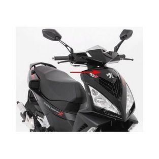 Peugeot | voorkap boven peugeot speedfight 3 zwart metallic nk origineel 772320nk