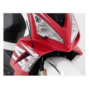 Peugeot | spoiler peugeot speedfight 3 rood g9 rechtsvoor origineel 774251g9