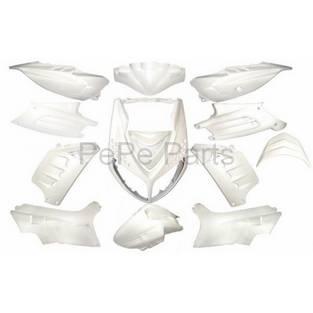 Peugeot | plaatwerkset special speedfight 2 wit metallic dmp 13-delig