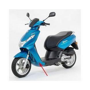 Peugeot | voorkap onder peugeot kisbee 4-takt blauw celeste m4 origineel 779171m4