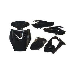 Peugeot | Kappenset special vivacity sportline zwart metallic DMP 6-delig