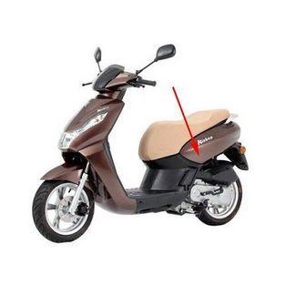 Peugeot | zijkap peugeot kisbee 4-takt bruin k2 links origineel 779173k2