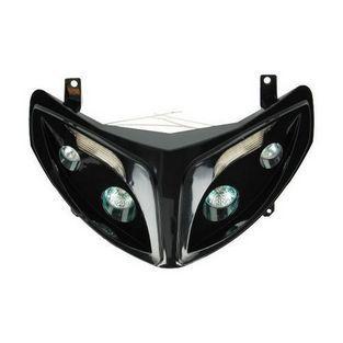 Peugeot | koplamp met led lamp model audi peugeot speedfight 2 zwart DMP