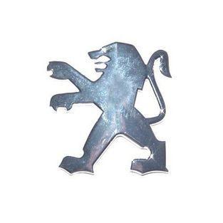 Peugeot | sticker peugeot logo dik leeuw scooter peugeot oud type chroom falko 980698
