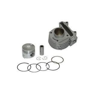 Benzhou | cilinder + zuiger aluminium nikasil china4-takt gy6 kymco 4takt 39mm