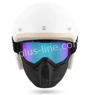 | Aplus goggle masker irridium