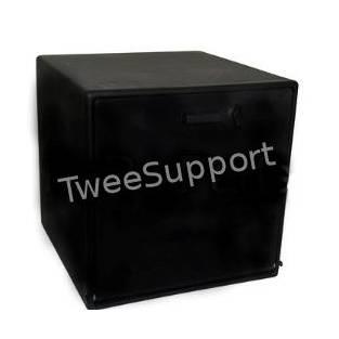 | Pizzakoffer zwart enkel geisoleerd 60 liter