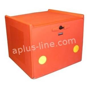 | Pizzakoffer rood dubbel geisoleerd 90 liter