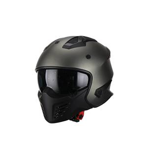 | Helm vito bruzano mat titanium
