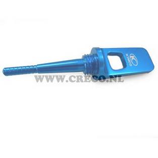 Kymco   oliepeilstok kymco agility sento super8 blauw