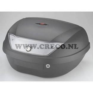 | koffer 51 liter zwart
