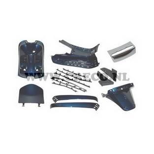 Vespa | binnen beplating set lx blauw 222