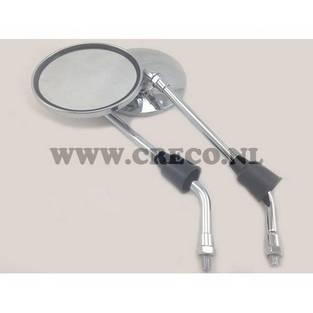 Agm | spiegel agm vx50 agm vx50s links en rechts te bevestigen chroom