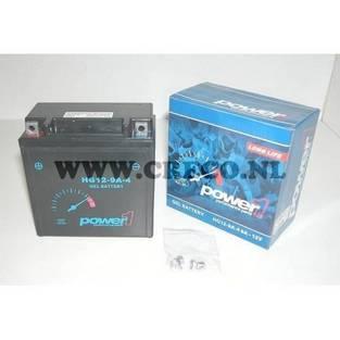 Power1 | accu yb9-b vespa lx power1 gel