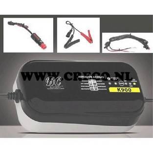 Overig | accu lader bc k900 6v / 12v +plug