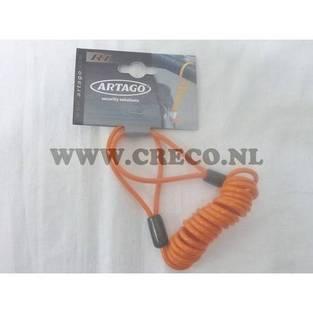 | reminder kabel artago schijfremslot
