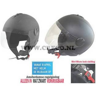   Helm alt-1 mat zwart xl