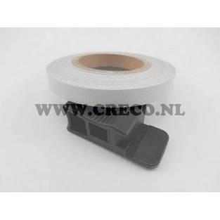 geen merk | wielstriping reflect wit 5mm (6mtr)